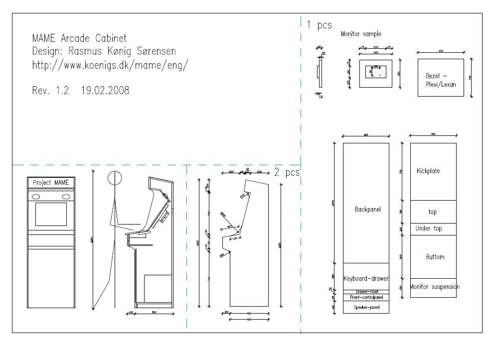 Mame Arcade Cabinet Plans Pdf | memsaheb.net