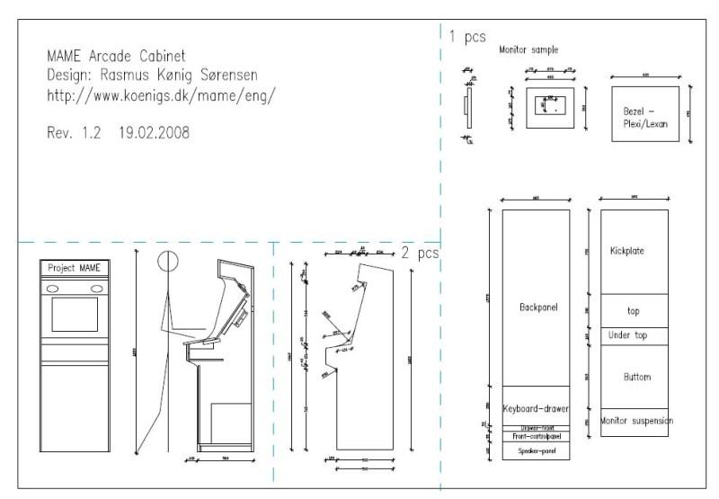 Arcade Cabinet Pdf Memsaheb Net