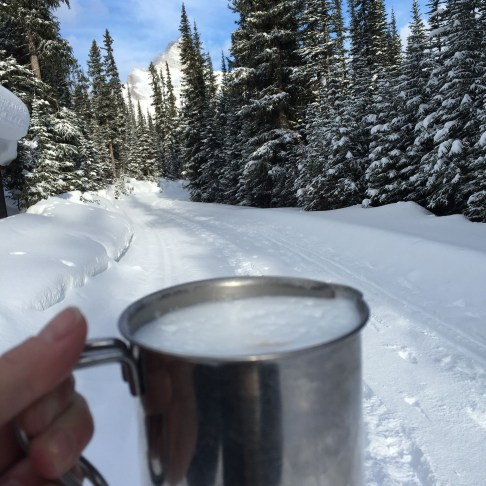 Backcountry cappuccino