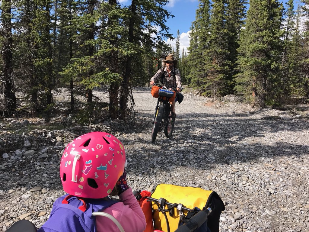 Spring Family Bikepacking Indoctrination Weekend.