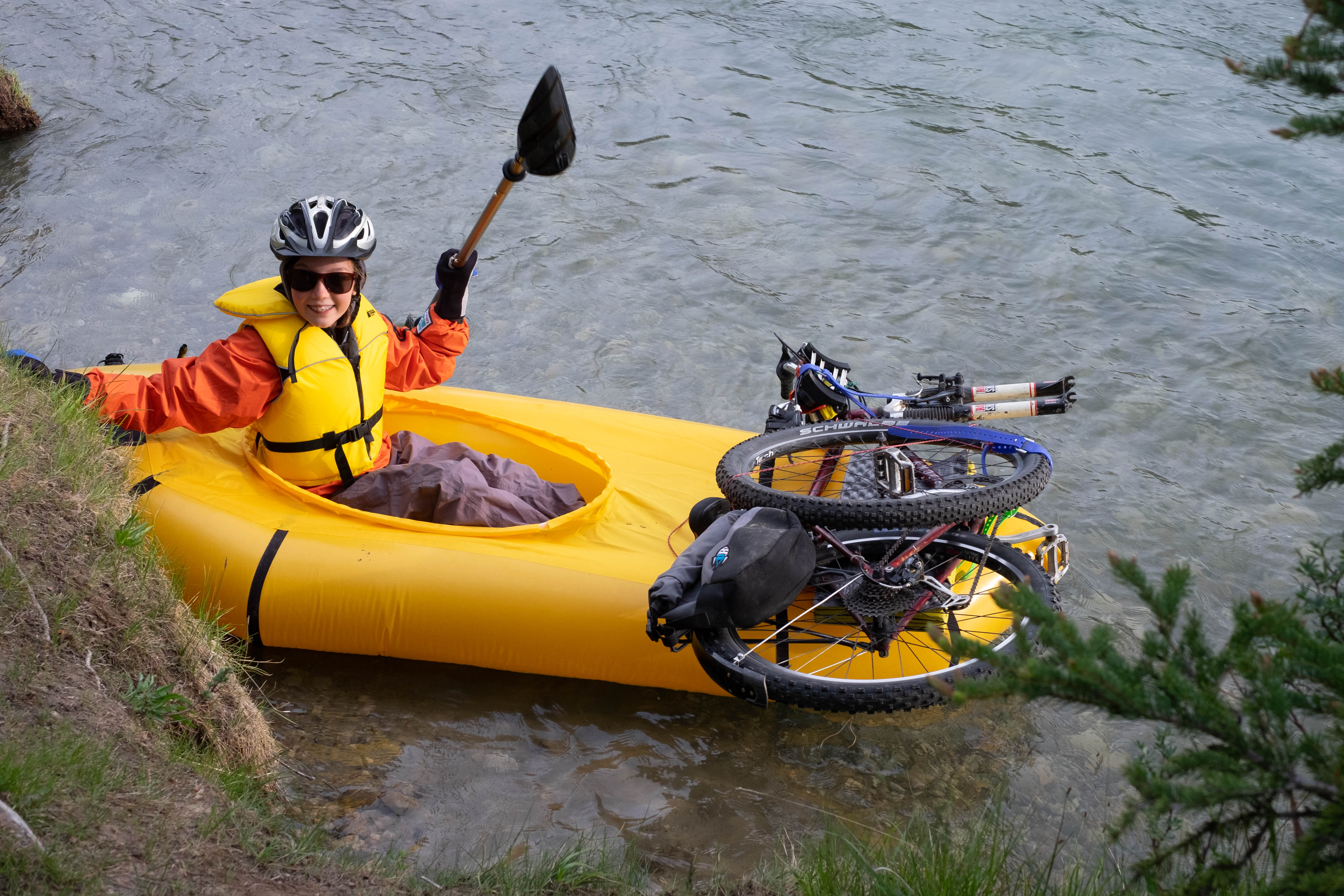 DIY Packraft Early Review