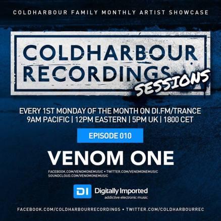 Venom One Coldharbour Sessions