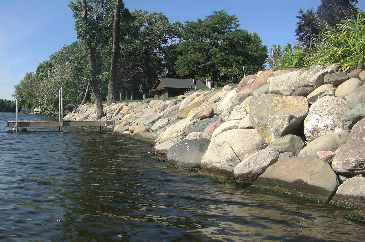 River Amp Streambank Solutions By Cold Stone Shorelines Amp Retaining Walls