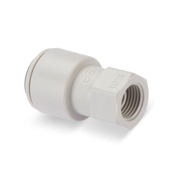 DP326, Adaptador para grifo a presión de 3/8″ a conector roscado de 7/16″ UNS para grifo