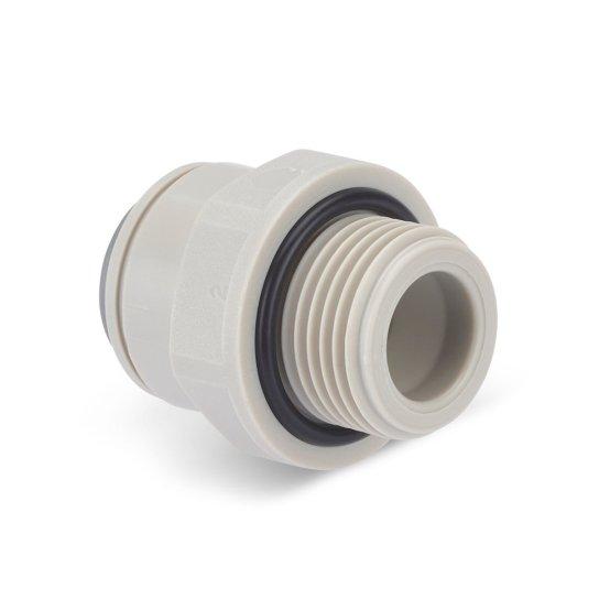 DP488 Adattatore dritto da 3/8″ BSP a 3/8″ Push-Fit 4.48