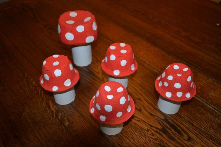Enchanted Forest Party Toadstools