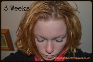 no poo 3 weeks