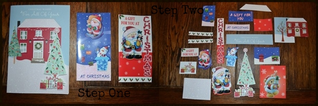 Homemade Thrifty Christmas Cards2