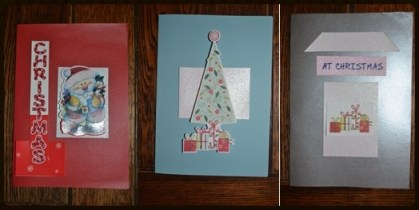 Homemade Thrifty Christmas Cards3