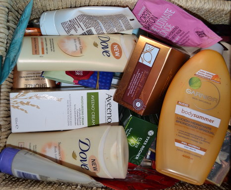 Unused Beauty Products
