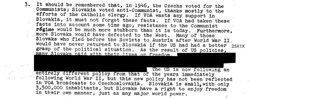 HISTORY 1953 CIA Source: People Died in Czechoslovakia Because of