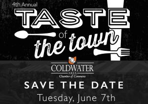 Taste of the Town Save the Date