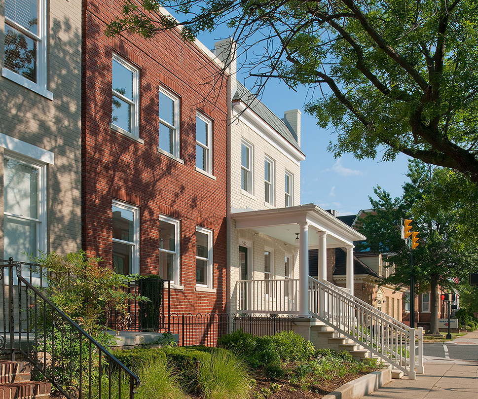 Commercial Retail & Office Rowhouse