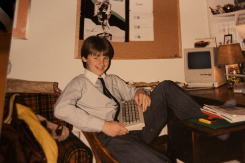 Stylin' with the 128K Back in the Day