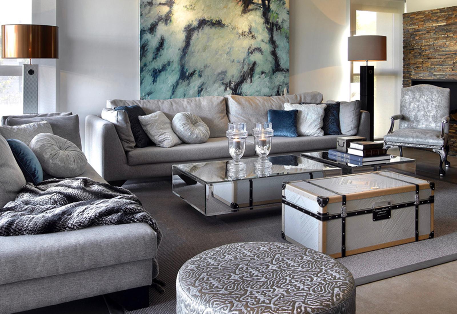 Sofa And Chaise Lounge Set