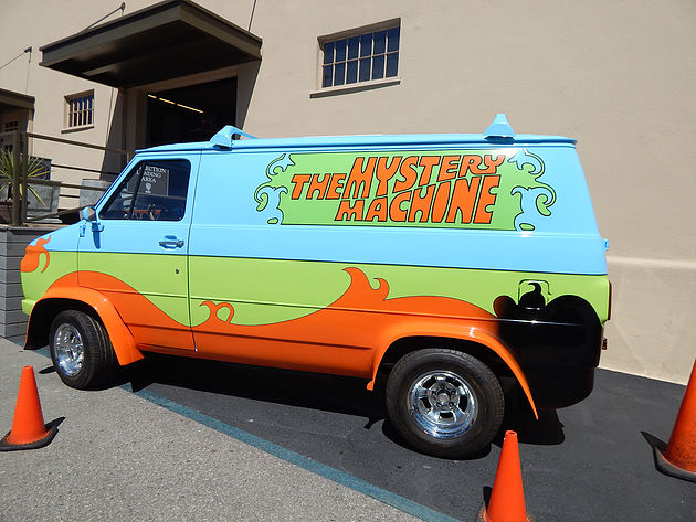The Mystery Machine, a van do Scooby-Doo.