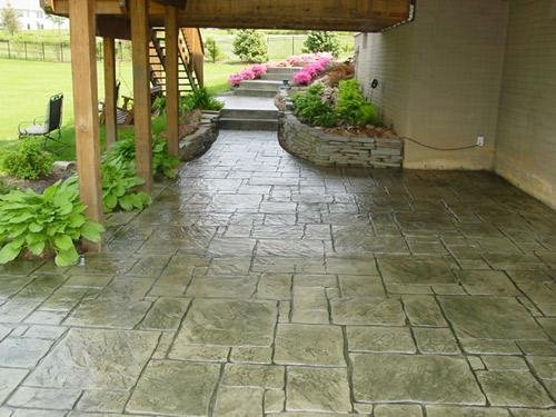 stamped concrete patios cole concrete