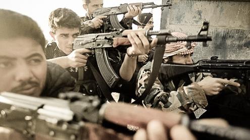Combatientes Siria por Freedom House