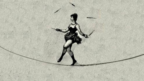 Equilibrismo por HA! Designs - Artbyheather