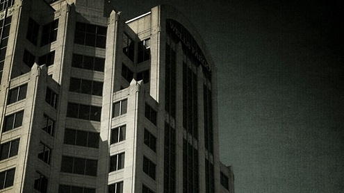 Edificio ominosos por catscatseveywhere