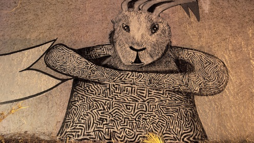 Conejo y chistera por ivesone dot com