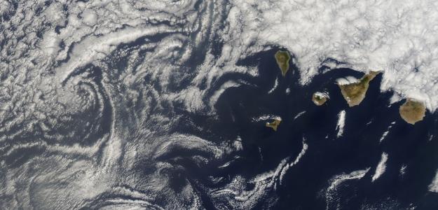 Islas Canarias por NASA