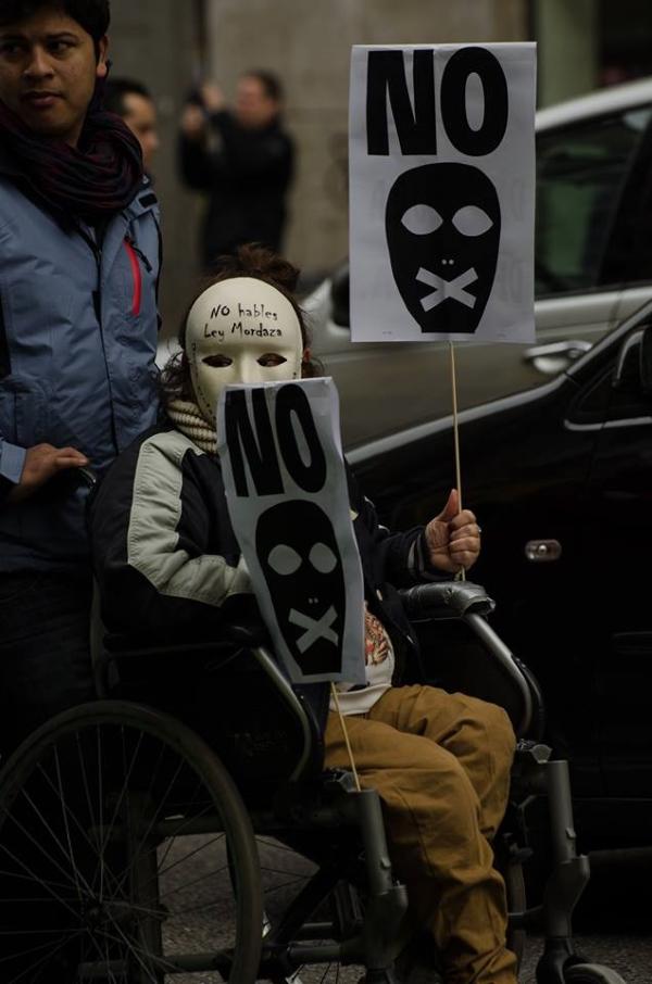 Manifestacion contra le ley mordaza 01