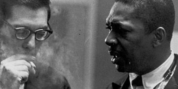 Coltrane y Bill Evans por Gonzague Petit Trabal
