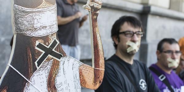 Ley mordaza por Pablo Ibañez (AraInfo)