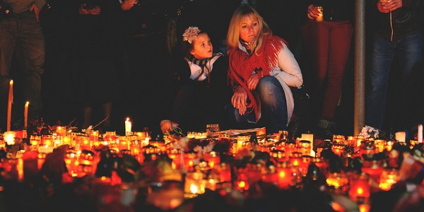 Terror en Paris por Blanca Dagheti