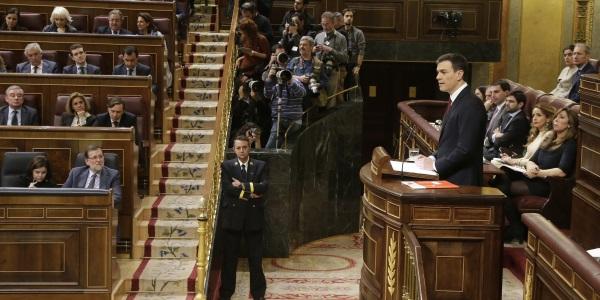 Pedro Sanchez Congreso de los Diputados