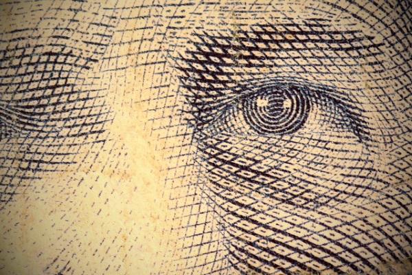 Ojo dinero por Kevin Dooley