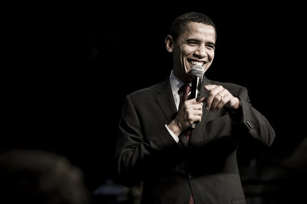 Barack Obama por Joe Crimmings
