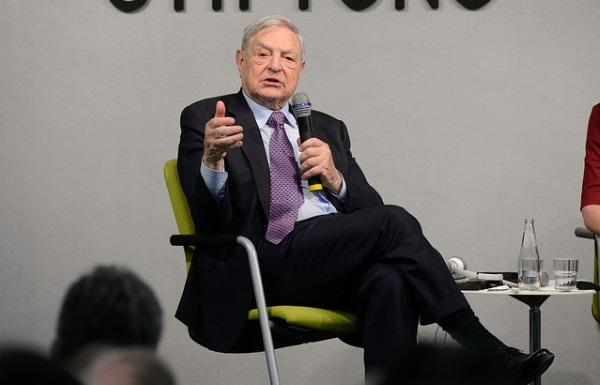 George Soros por Heinrich-Böll-Stiftung