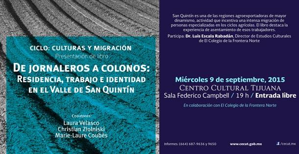 De jornaleros a colonos: Residencia, trabajo e identidad en el Valle de San Quintín