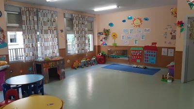 Aula Escuela Infantil 1 año.