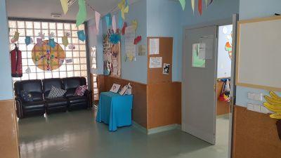 Hall de entrada de la Escuela Infantil