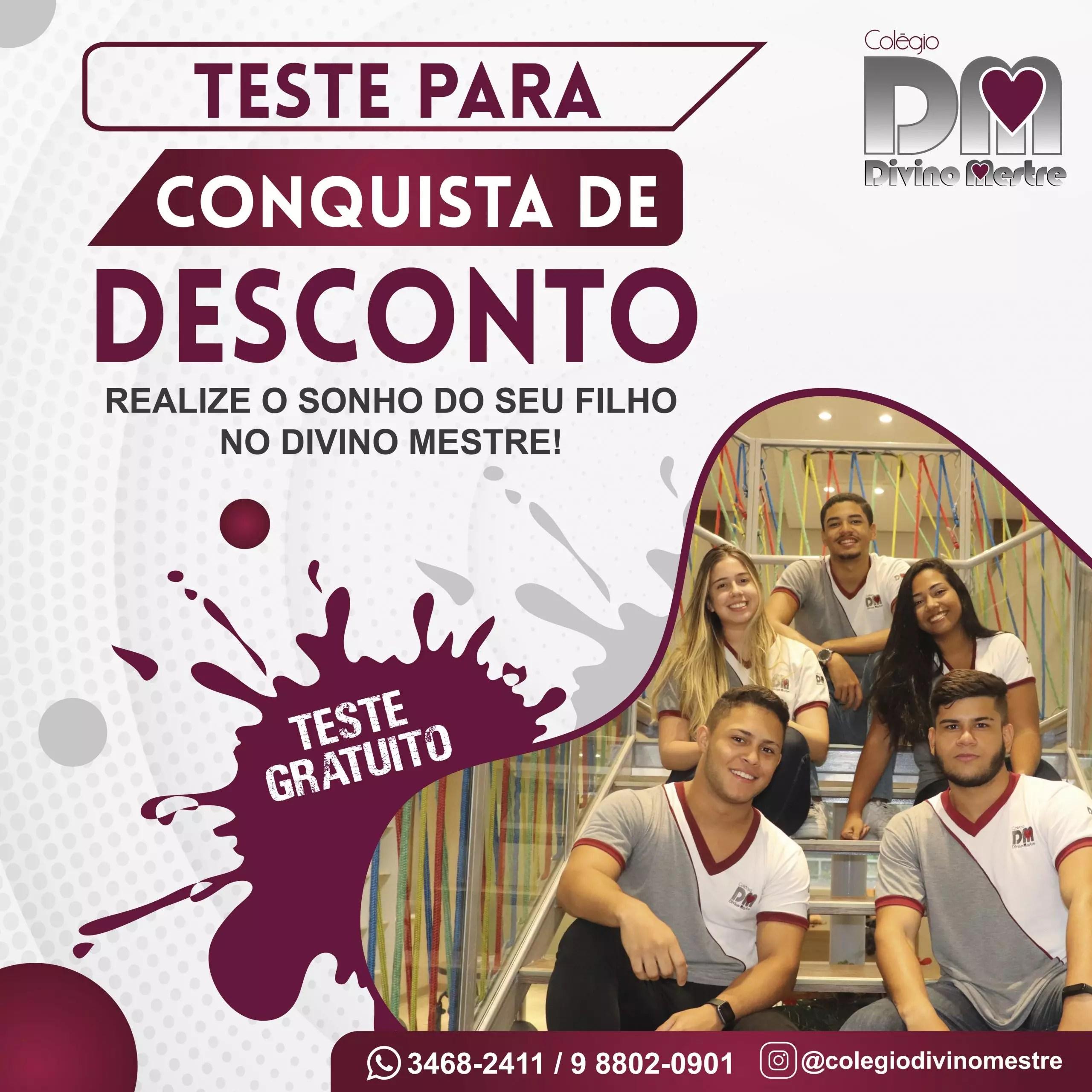 TESTE PARA CONQUISTA DE DESCONTO (TCD)