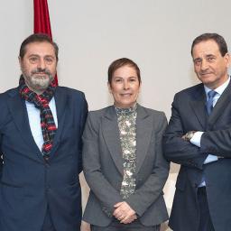 La presidenta del Gobierno recibe a una delegación del CNP/NKE y de la APN