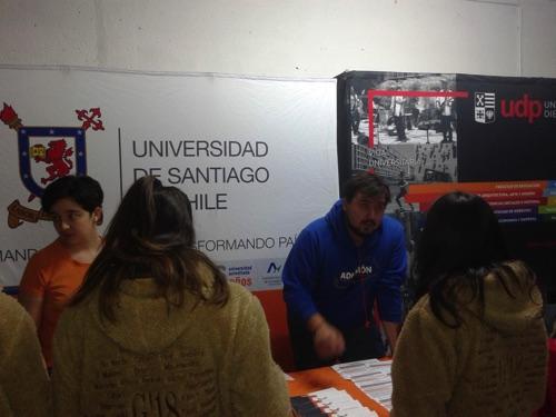 FERIA DE UNIVERSIDADES, INSTITUTOS PROFESIONALES Y ESCUELAS MATRICES DEL EJERCITO Y CARABINEROS
