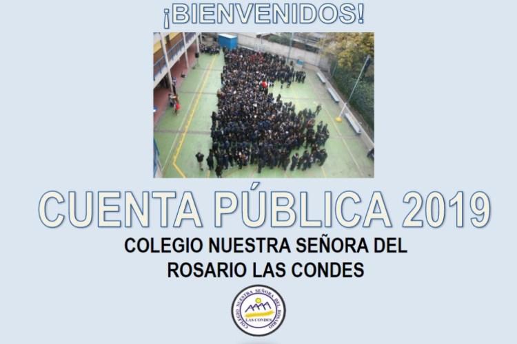 Noticia Cuenta Pública 2019