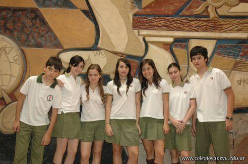 Alumnos de 3er año de la Secundaria con Excelencia Académica