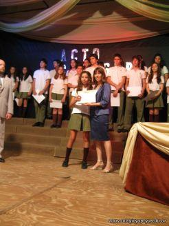Acto de Clausura de la Secundaria 2009 68