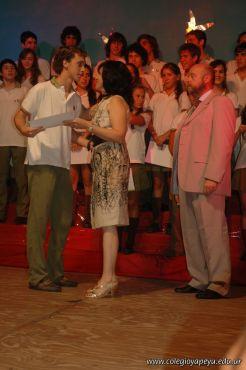 Acto de Colacion de la Promocion 2009 124