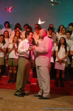 Acto de Colacion de la Promocion 2009 197