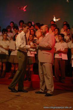 Acto de Colacion de la Promocion 2009 198