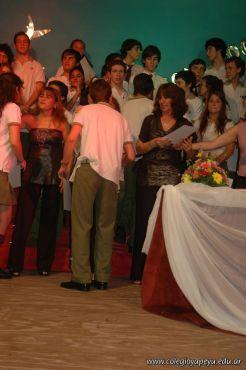 Acto de Colacion de la Promocion 2009 237