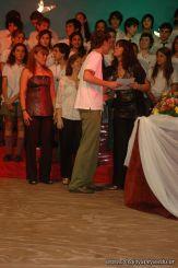 Acto de Colacion de la Promocion 2009 243