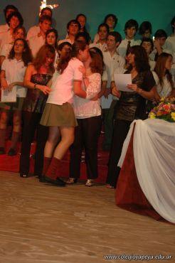 Acto de Colacion de la Promocion 2009 249