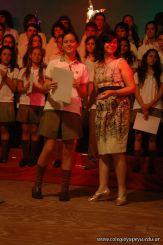 Acto de Colacion de la Promocion 2009 265